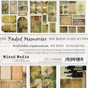 FADED MEMORIES - JUNK JOURNAL SET - ZESTAW DODATKÓW